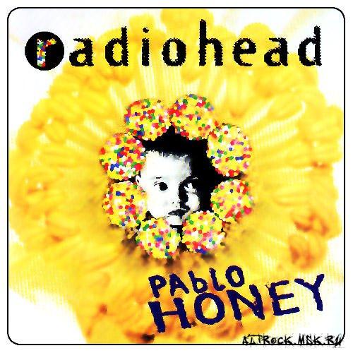 The album cover for Pablo Honey.