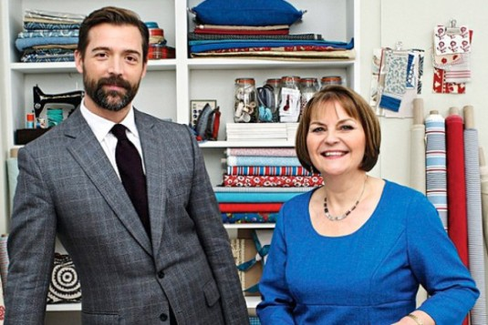 The Judges: Patrick Grant and May Martin.