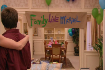 Look at banner, Michael